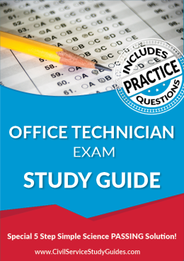 Office Technician Test Study Guide and Practice Test