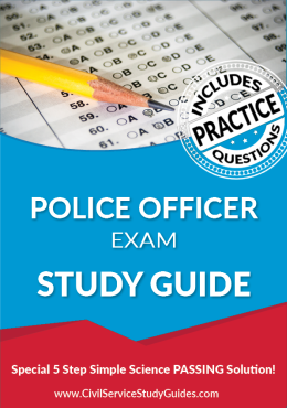 Police Officer Exam Study Guide and Practice Test