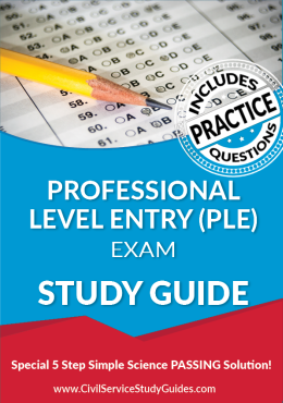 Professional Level Entry (PLE) Test Study Guide and Practice Test