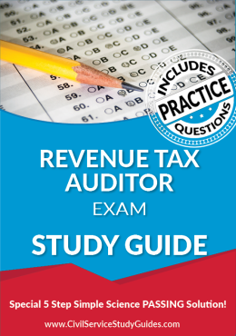 Revenue Tax Auditor Exam Study Guide and Practice Test