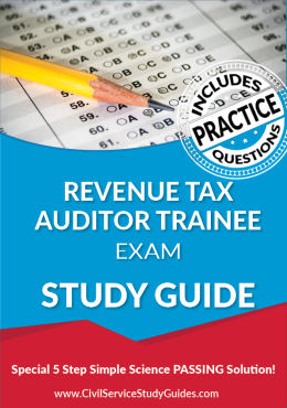 Revenue Tax Auditor Trainee Exam Study Guide and Practice Test