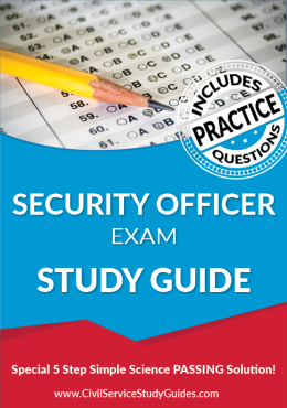 Security Officer Exam Study Guide and Practice Test