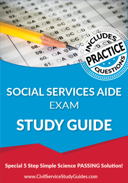 Social Services Aide Exam Study Guide and Practice Test