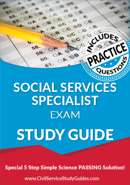 Social Services Specialist Exam Study Guide and Practice Test