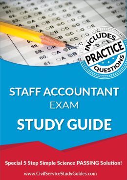 Staff Accountant Exam Study Guide and Practice Test